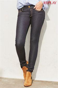Replay® Rinse Luz Skinny Jean