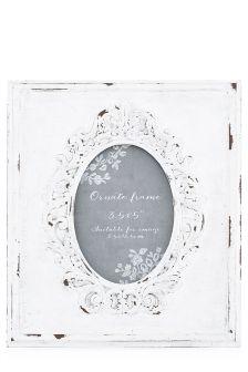Ornate Oval Frame
