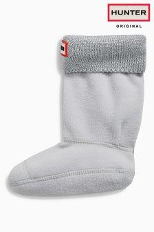 Hunter Original Silver Glitter Boot Sock
