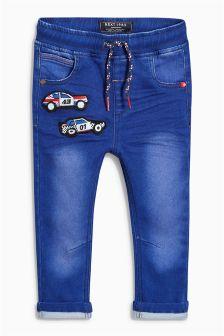 Blue Car Jersey Jeans (3mths-6yrs)