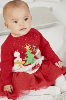 Red Christmas Jumper (0mths-2yrs)