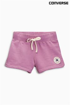 Purple Converse Fleece Shorts