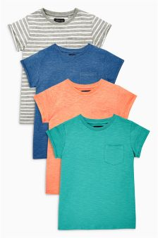 Bright T-Shirts Four Pack (3-16yrs)