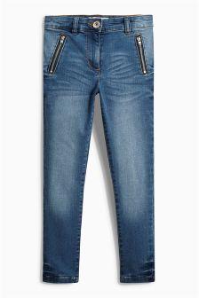 High Waist Skinny Jeans (3-16yrs)
