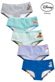 Multi Disney™ Hipsters Five Pack (3-16yrs)