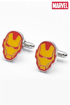 Red/Yellow Iron Man Cufflinks