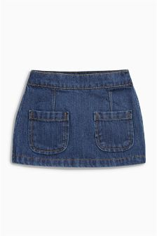 Denim Pocket Skirt (3mths-6yrs)
