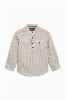 Long Sleeve Textured Shirt (3mths-6yrs)