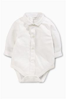 White Shirtbody (0mths-2yrs)
