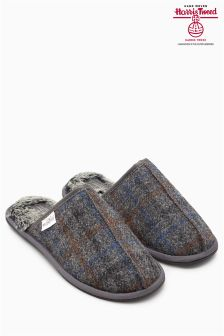 Harris Tweed Check Mule