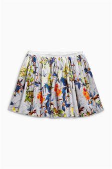 Floral Print Skirt (3mths-6yrs)