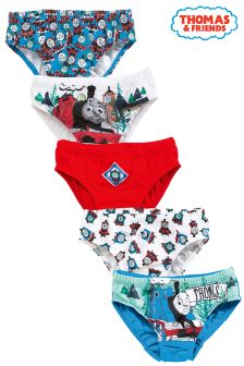 Multi Thomas Briefs Five Pack (1.5-6yrs)