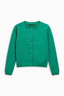 Green Cardigan (3-16yrs)