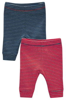 Red/Blue Stripe Joggers Two Pack (0-18mths)