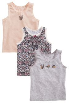 Floral Vests Three Pack (1.5-12yrs)