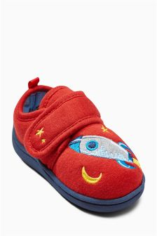 Red Rocket Slippers (Younger Boys)