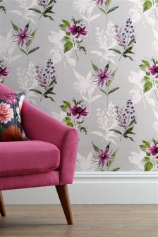 Vibrant Floral Paste The Wall Wallpaper