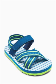 Navy Flip Flops (Younger Boys)