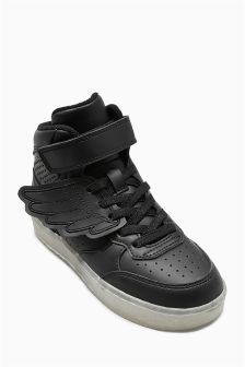Black Wing High Tops (Older Boys)
