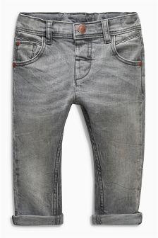 Grey Stretch Denim Jeans (3mths-6yrs)