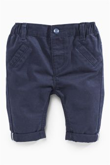 Navy Chinos (0mths-2yrs)