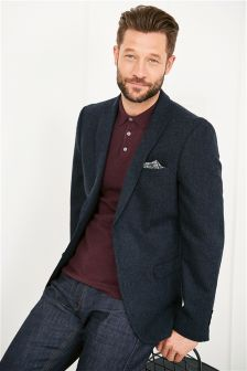 Blue Donegal Tailored Fit Jacket