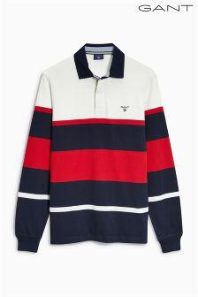Gant Navy/White Rugby Shirt
