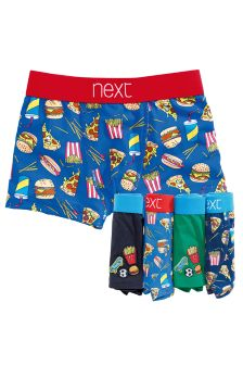 Multi Fast Food Trunks Five Pack (2-16yrs)