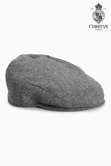 Grey London Charcoal Flat Cap