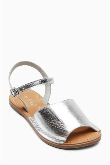 Peep Toe Sandals (Older Girls)