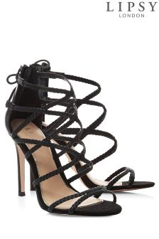 Lipsy Plaited Strappy Sandals