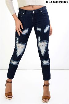 Glamorous Torn Distressed Jeans