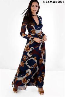 Glamorous Cutout Maxi Dress