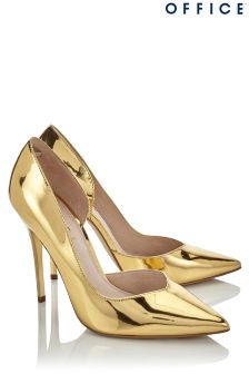 Office Metallic Court Shoes