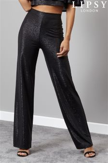 Lipsy Co-ord Metallic Trousers