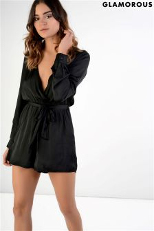 Glamorous Belted Playsuit