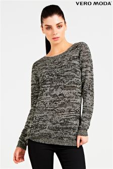 Vero Moda Long Sleeve Open Back Blouse