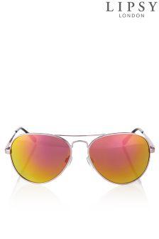 Lipsy Mirror Aviator Sunglasses