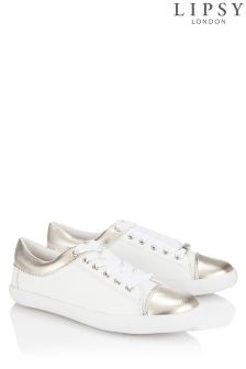 Lipsy Contrast Metallic Trainers