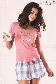 Lipsy Love Short Pyjama Set
