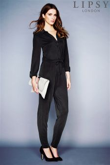 Lipsy Long Sleeve Jumpsuit