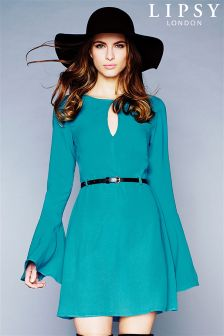 Lipsy Bell Sleeve Dress