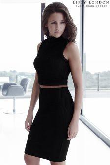 Lipsy Love Michelle Keegan Textured Co-ord Pencil Skirt