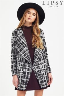 Lipsy Grid Waterfall Jacket