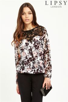 Lipsy Floral Lace Blouse