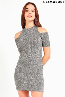 Glamorous Cold Shoulder Bodycon Dress