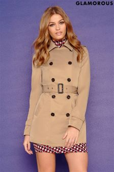 Glamorous Belted Trench Coat