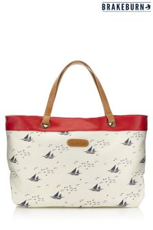 Brakeburn Boats And Birds Tote Bag