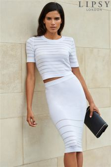 Lipsy Knitted Co-Ord Skirt