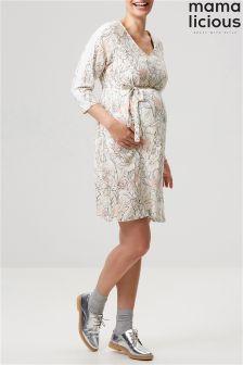 Mamalicious 3/4 Woven Maternity Dress